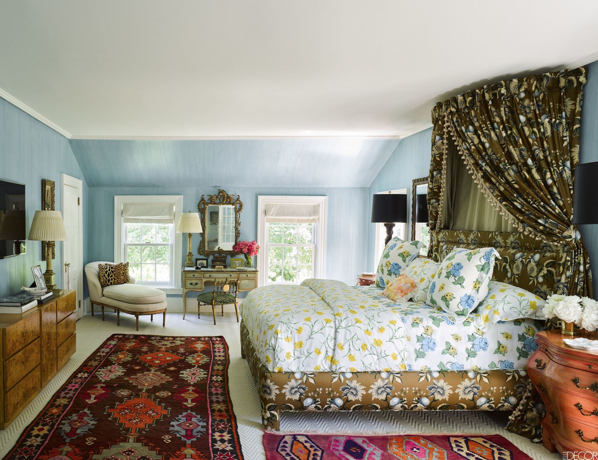 Best Blue Bedrooms - Blue Room Ideas Palm Beach Bedroom Decorating Tips Html on
