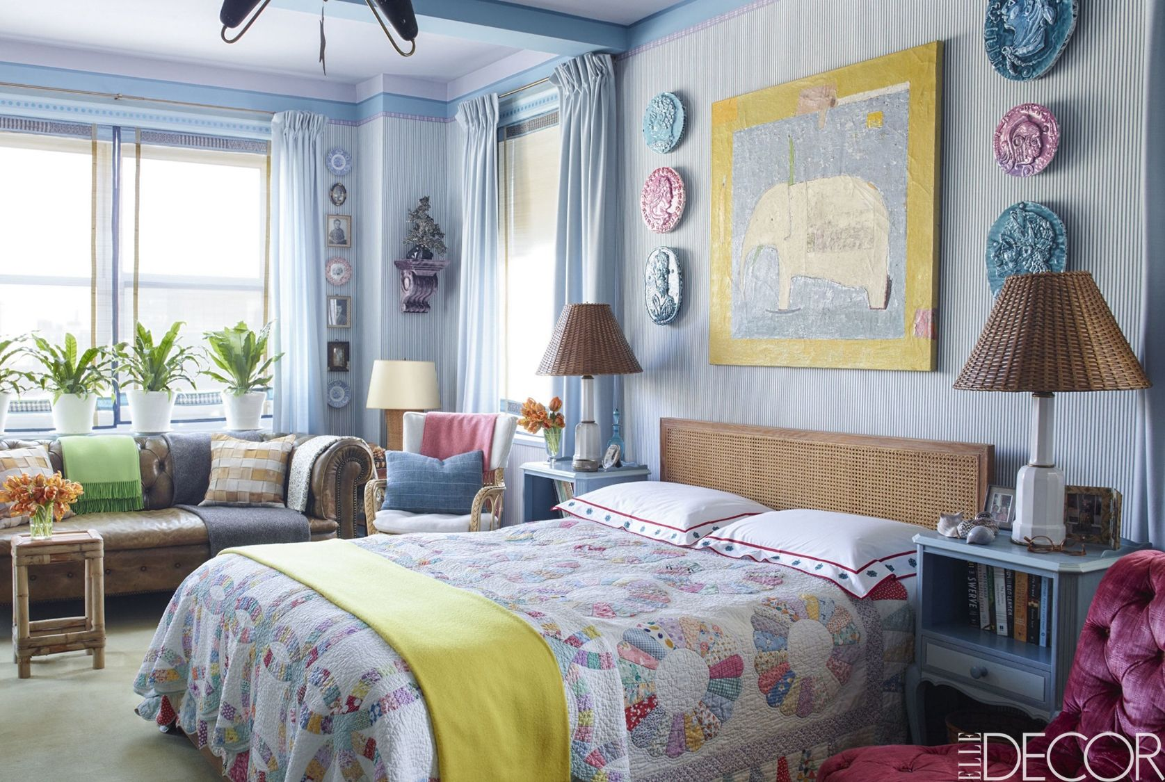 Best Blue Bedrooms - Blue Room Ideas