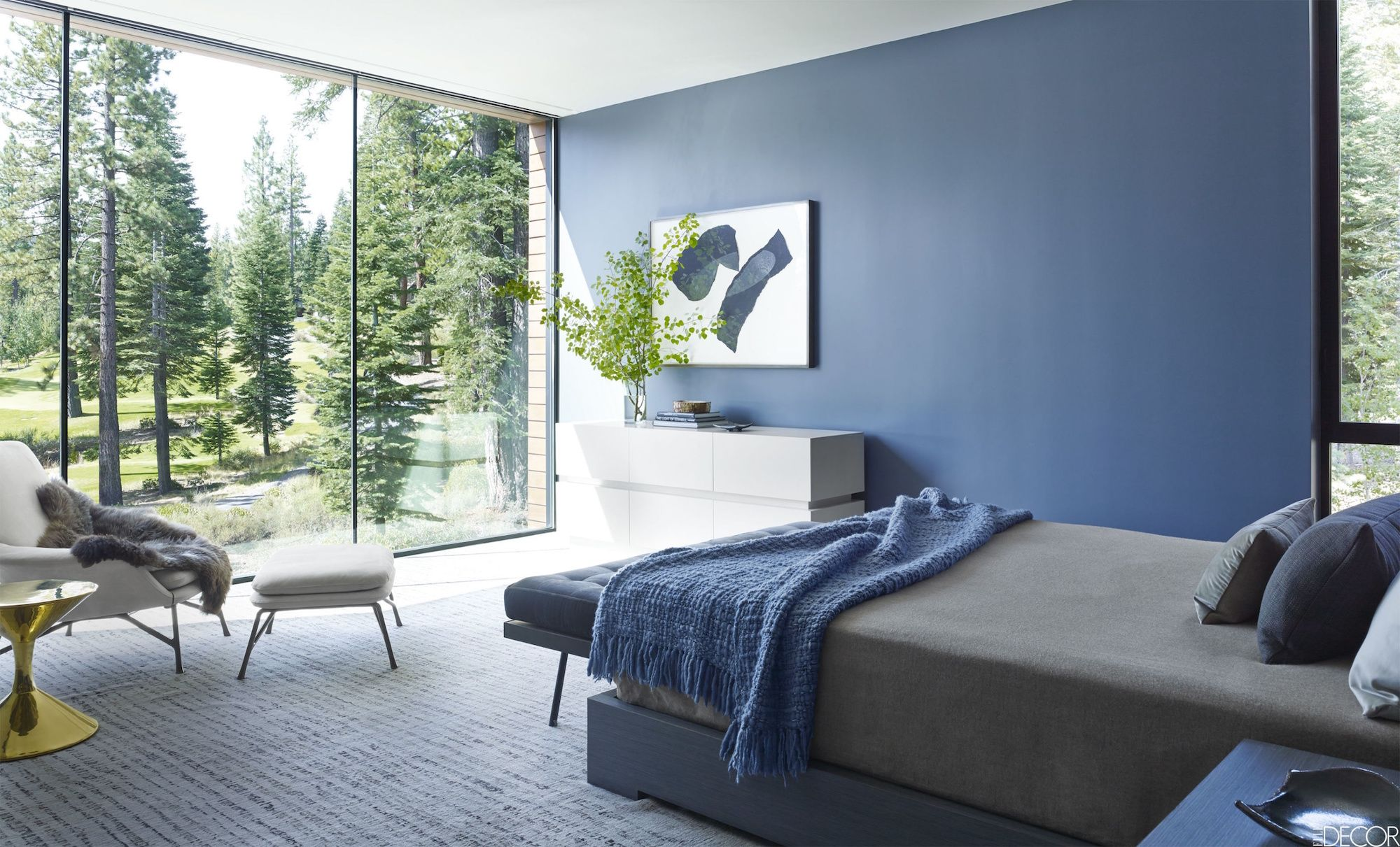 Decor Ideas For Blue Bedrooms