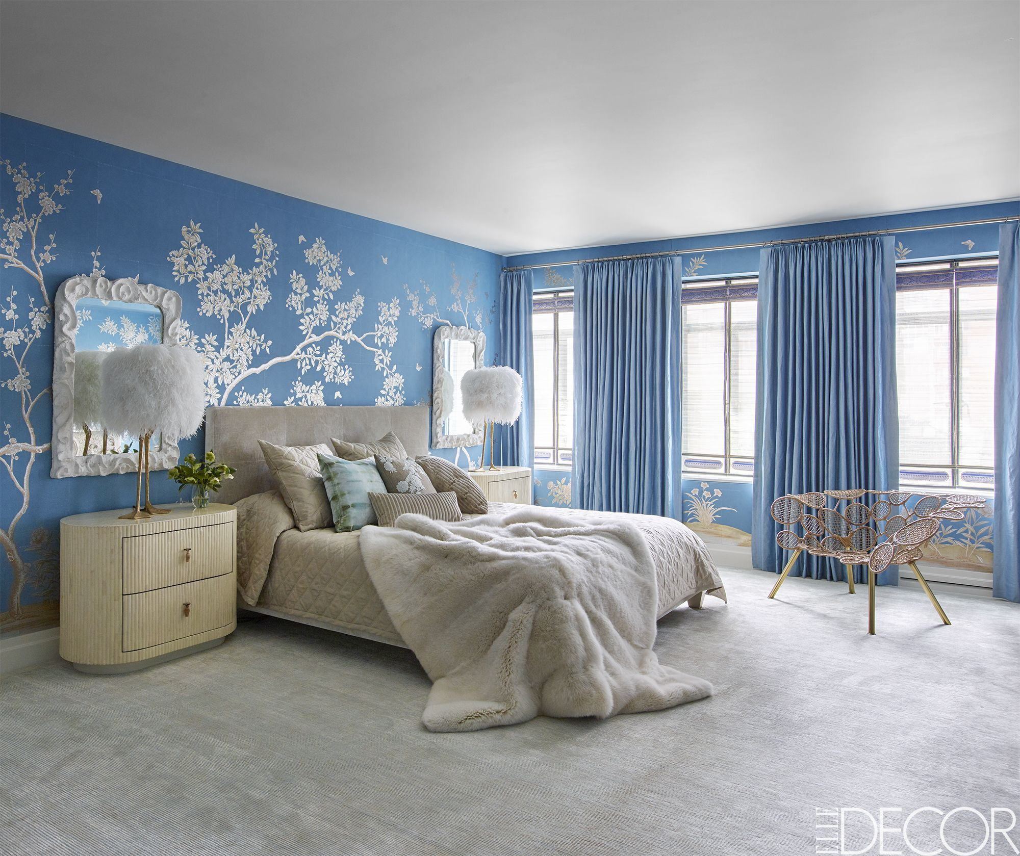 Interior Pictures Of Blue Bedrooms best blue bedrooms room ideas