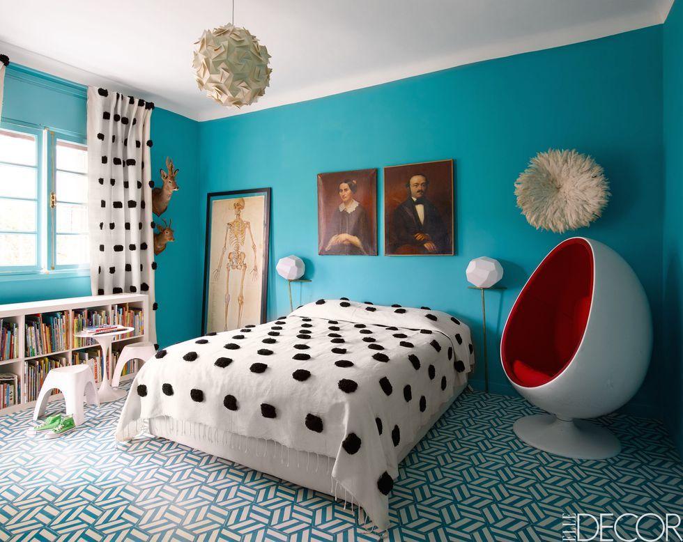 2018 color trends best paint color and decor ideas for 2018 rh elledecor com Modern Bedroom Furniture King Bedroom Sets