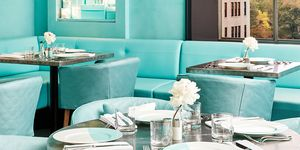 Blue Box Cafe in New York van Tiffany & Co.