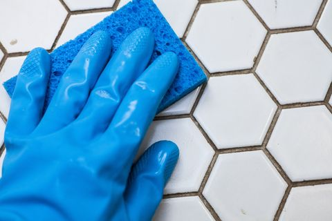 """Doing This To """"Clean"""" Your Grout Is Actually Causing Damage"""