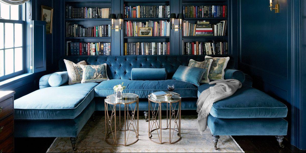 Indigo Cobalt And Sunflower Blue Decor Will Make You Feel