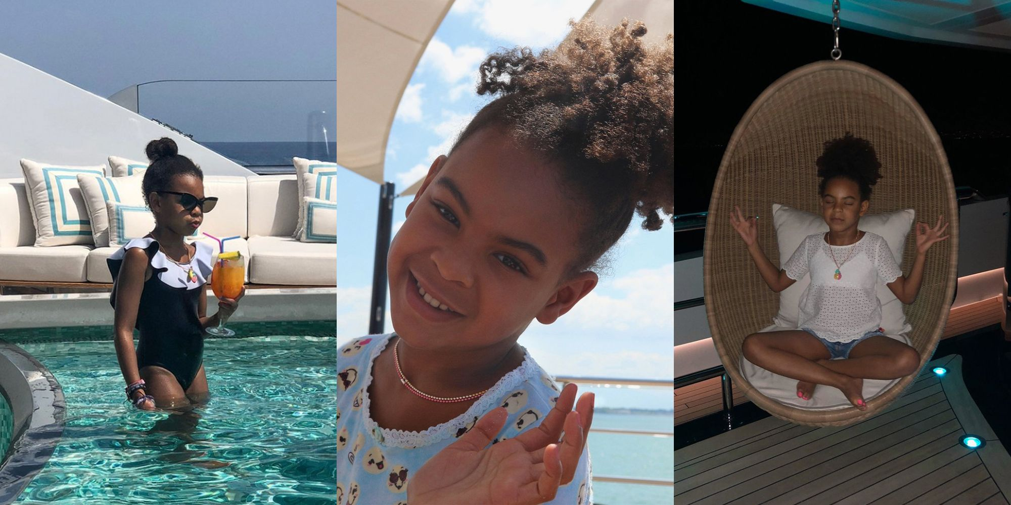 blue ivy carter on vacation with beyoncé in europe photos blue s
