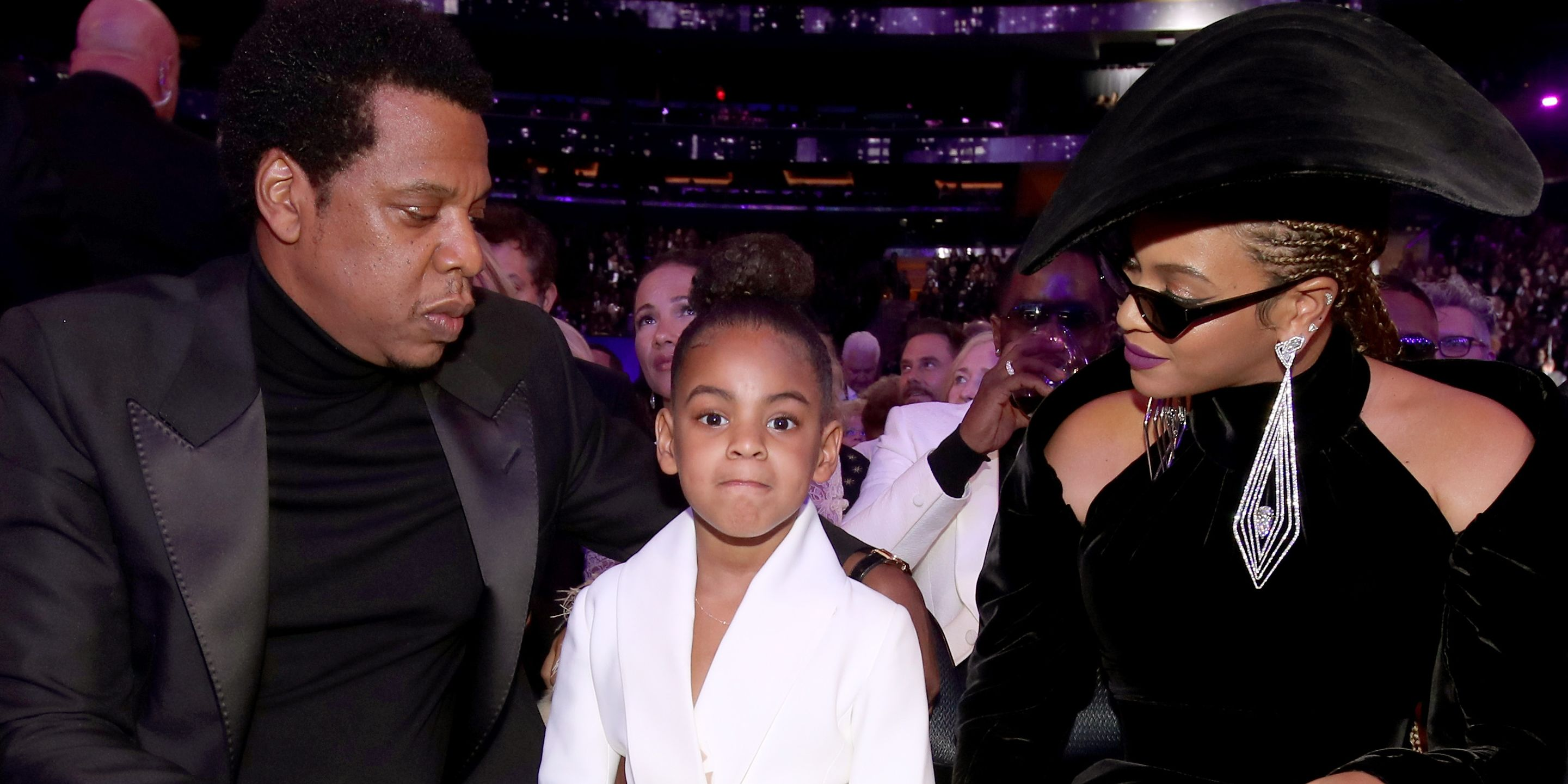 Jay Z New Hair Style 2018: Blue Ivy Carter Is At The 2018 Grammys With Beyonce And