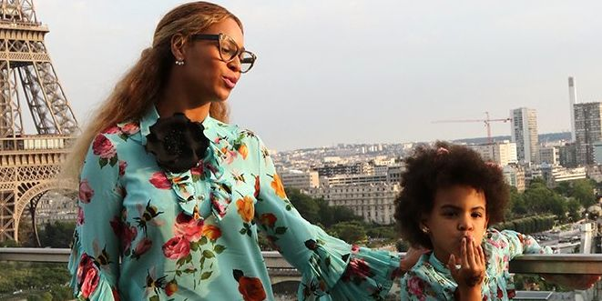 beyonce blue ivy paris