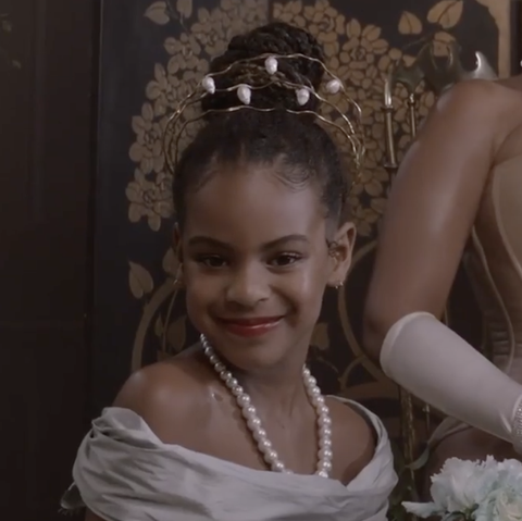 Blue Ivy Already Stole the Show With Her Cameo in Beyoncé's 'Black Is King' Disney+ Special