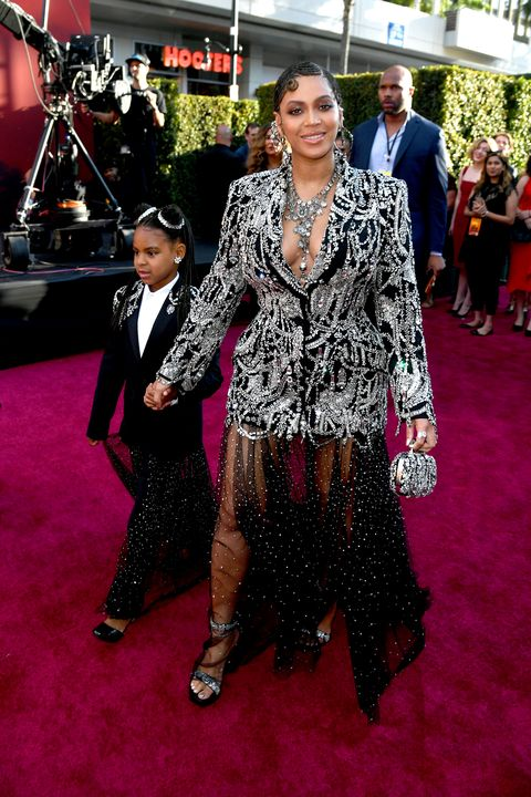 Beyonce And Blue Ivy Attend The Lion King Premiere In Los Angeles
