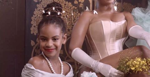 blue ivy carter in 'black is king'