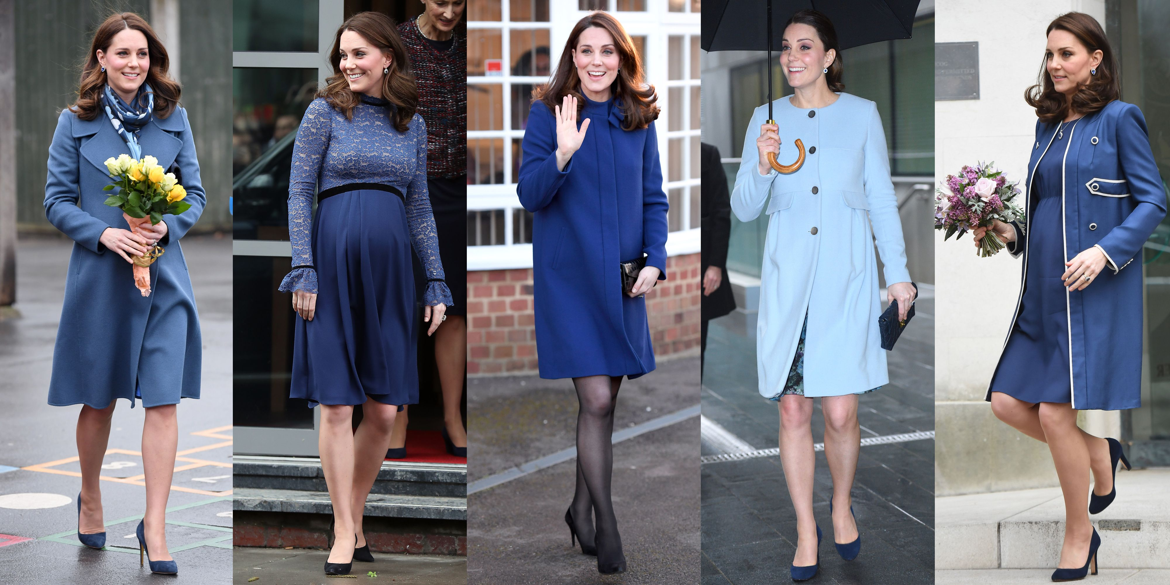 kate middleton blue