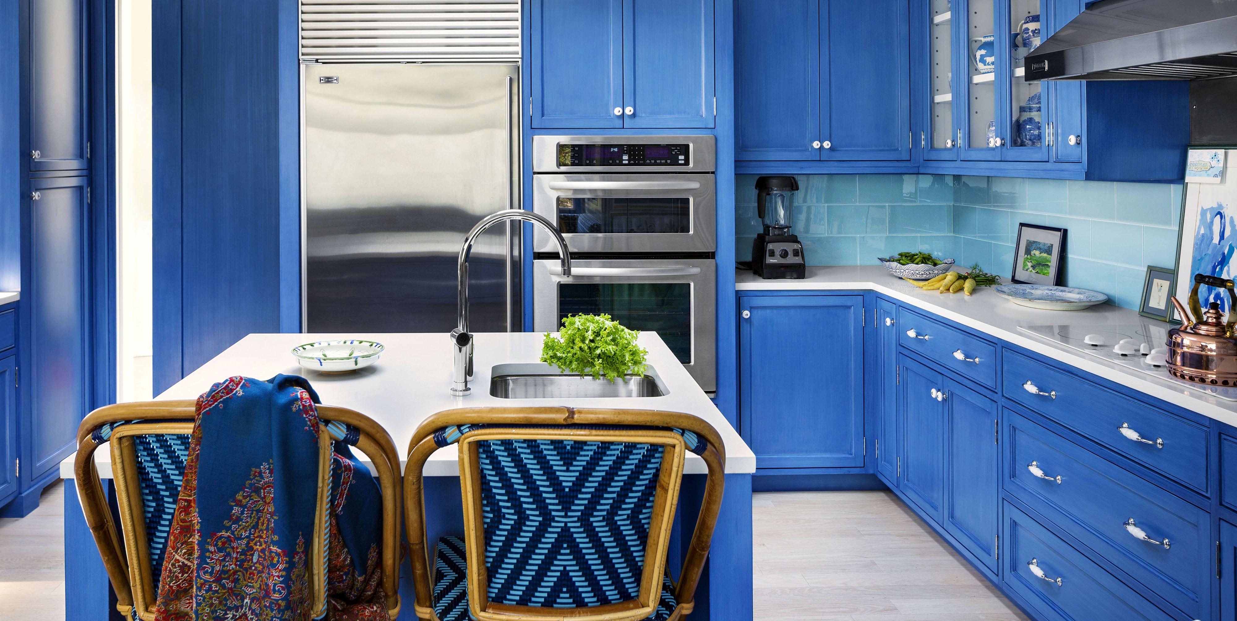 15 Blue Kitchen Design Ideas - Blue Kitchen Walls