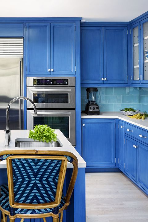 15 Blue Kitchen Design Ideas Blue Kitchen Walls