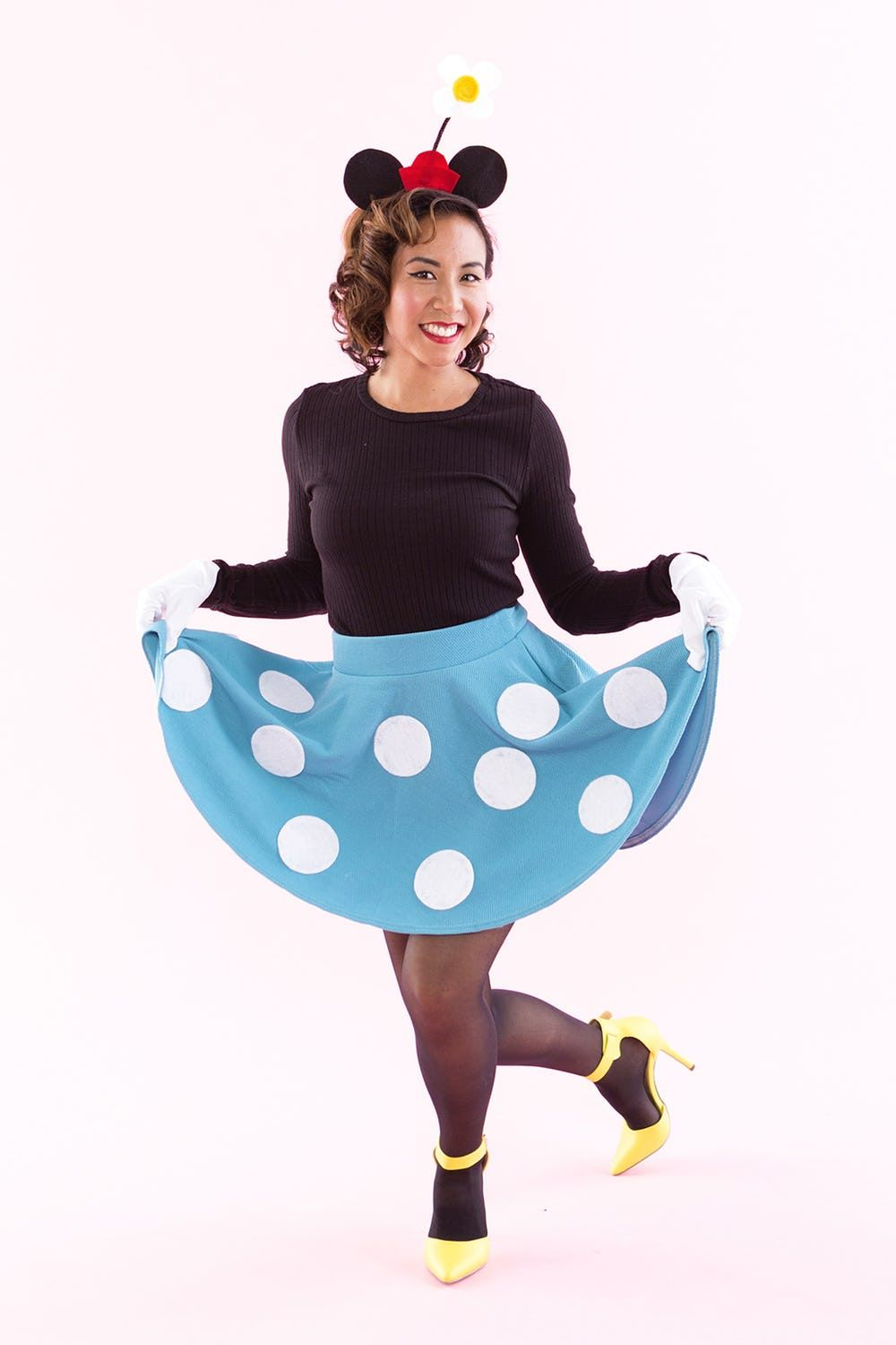 15 Diy Minnie Mouse Costume Ideas Minnie Mouse Halloween