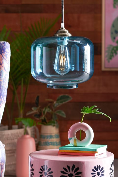 blue pendant walmart - best lighting stores