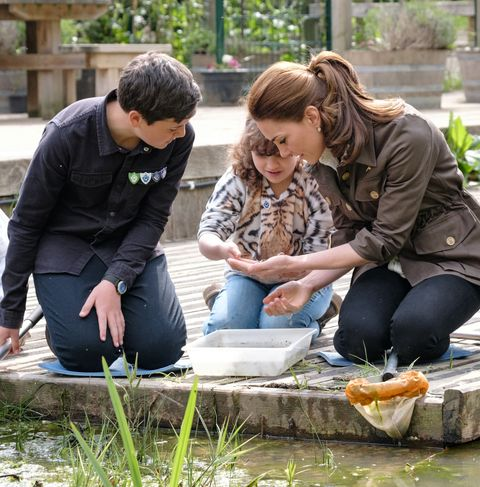 Kate Middleton launches Blue Peter Back to Nature gardening competition
