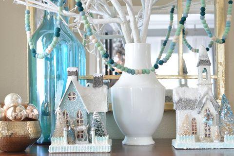 Diy Blue Christmas Decor Ideas Best Tree