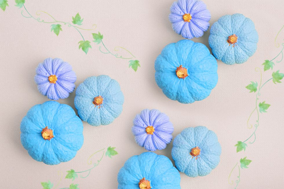 How Families Use Blue Pumpkins on Halloween to Raise Awareness Around Autism Spectrum Disorders