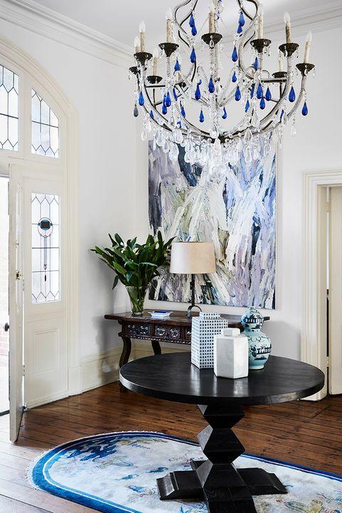 blue decorating ideas