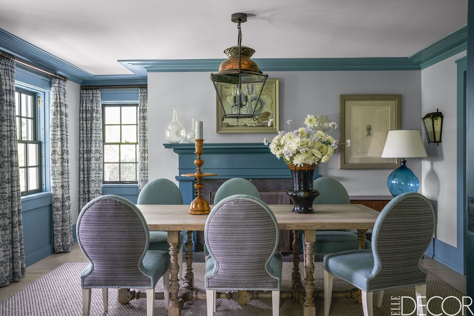blue rooms & 36 Best Blue Rooms - Ideas For Decorating With Blue