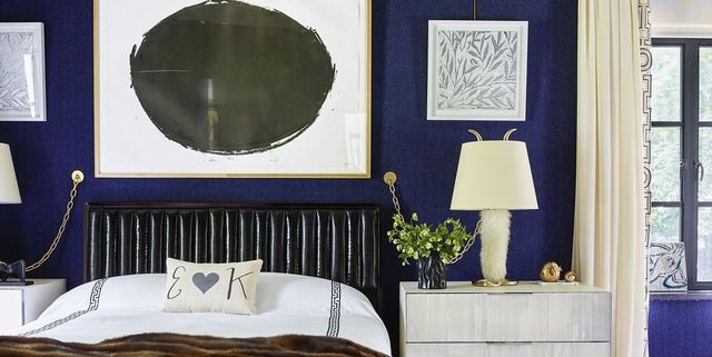 36 best blue rooms ideas for decorating with blue - Blue Bedroom Walls