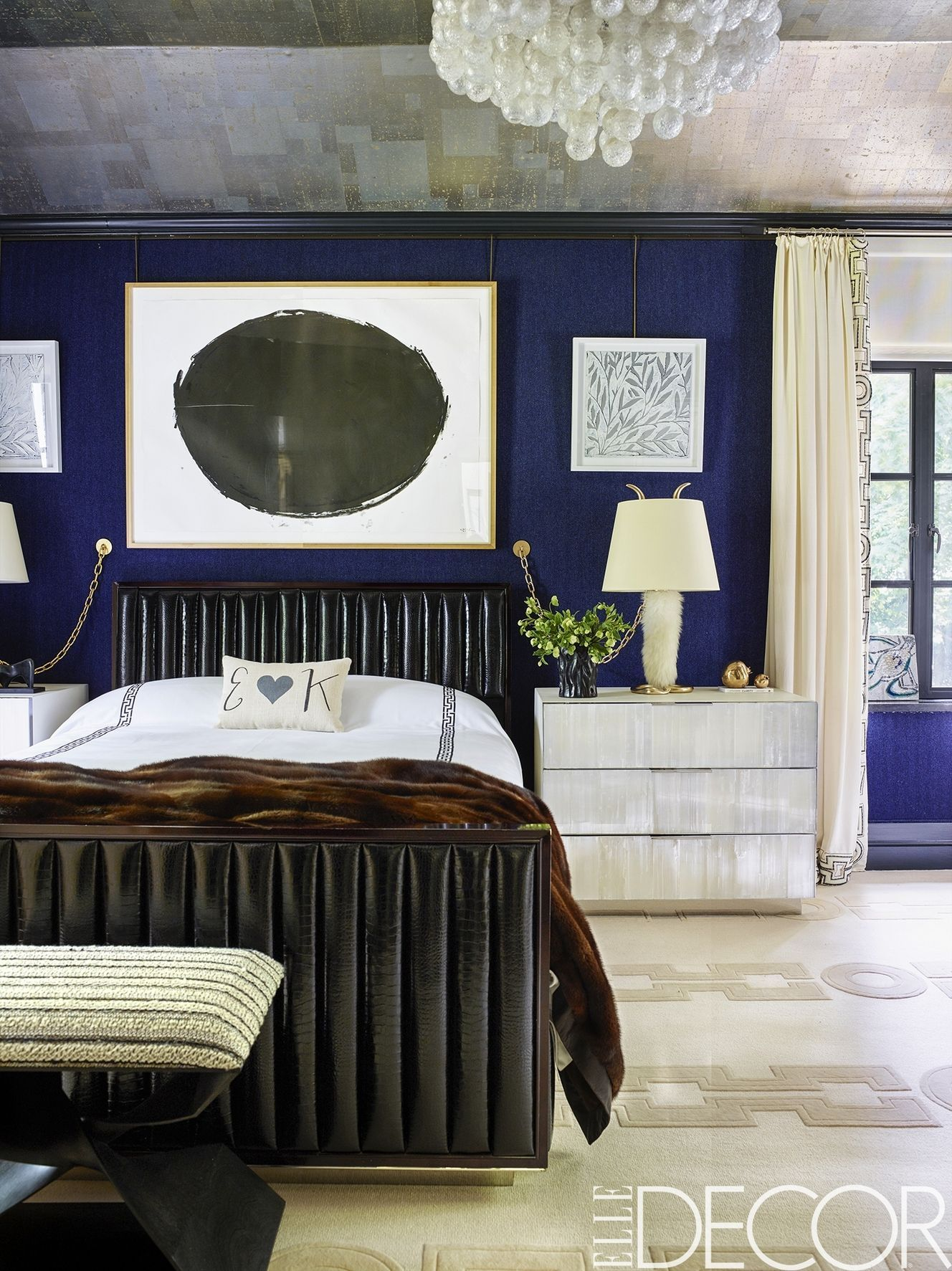 Charming Blue Rooms
