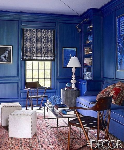 9ed8e4fe39f0 50 Blue Room Decorating Ideas - How to Use Blue Wall Paint   Decor