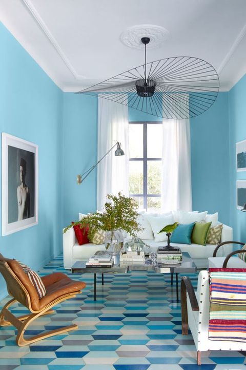 48 Best Blue Rooms Ideas For Decorating With Blue Fascinating Blue Living Room Designs