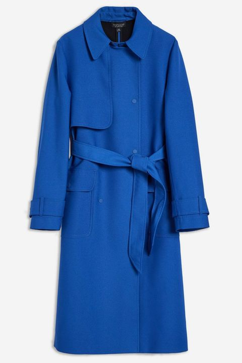 Blue coats inspired by Meghan Markle
