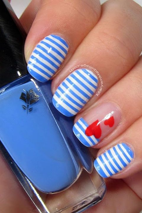 30 Best Valentine\'s Day Nails - Hot Nail Art Design Ideas for ...