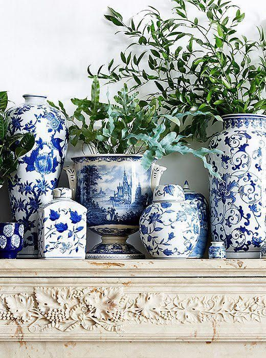 What To Look For When Shopping For Blue And White Porcelain,Blue Wall Living Room