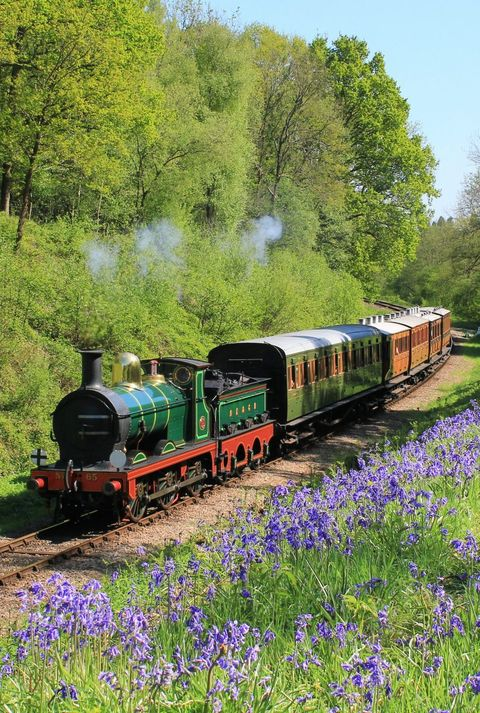travel by train in england, scotland and wales