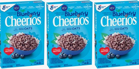 Blueberry Cheerios Are Rolling Out on Shelves, So Is It Breakfast Time Yet?