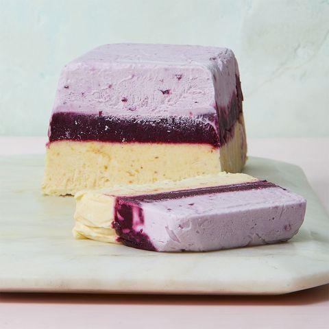 Blueberry & Nectarine Semifreddo recipe