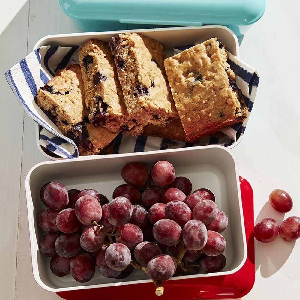 Blueberry-Oatmeal Blondies