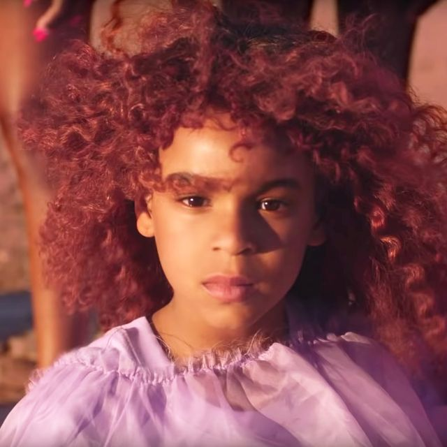 Super Blue Ivy Carter Sings On Beyonces The Lion King The Gift Funny Birthday Cards Online Kookostrdamsfinfo