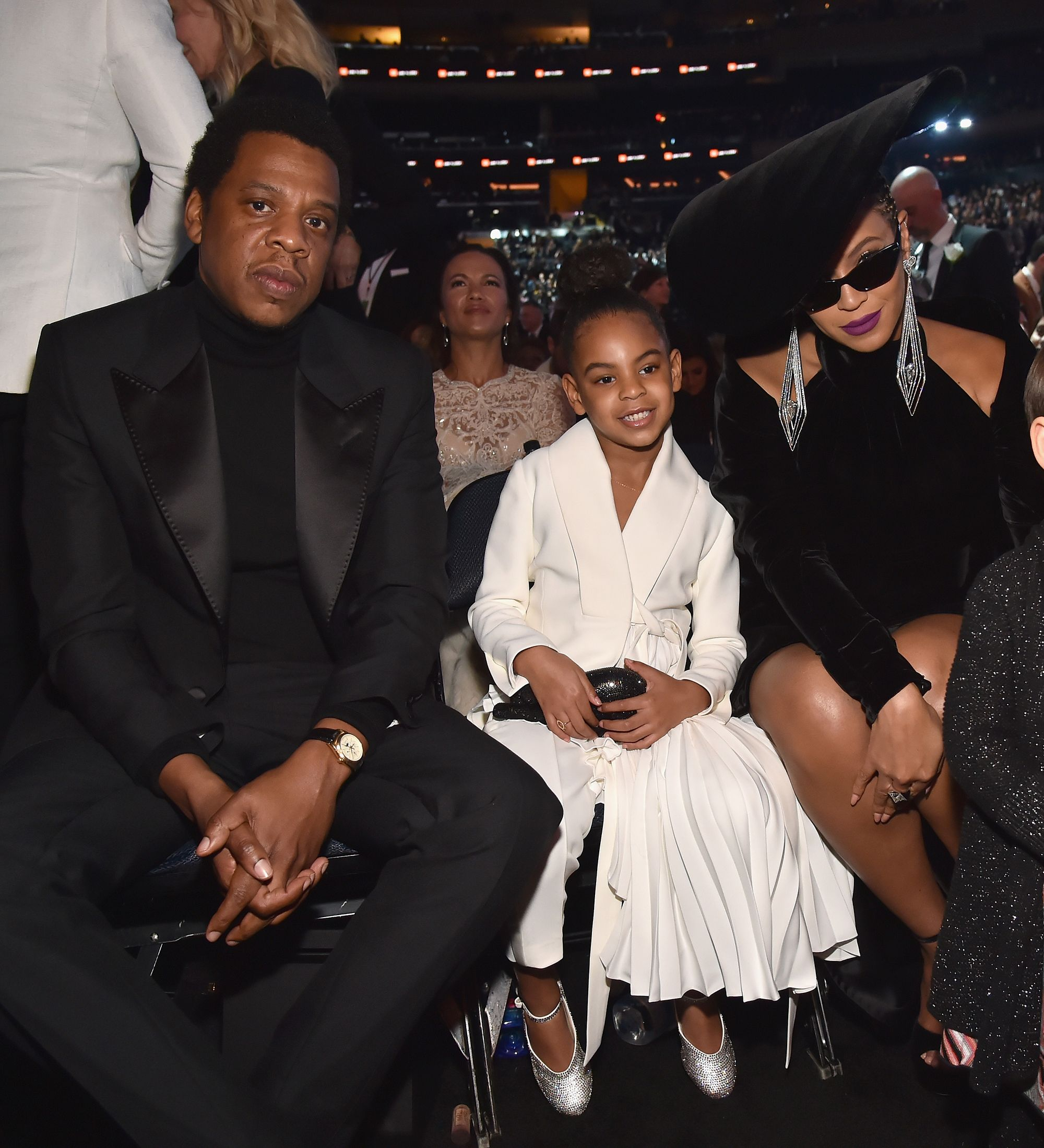 blue ivy, jay-z and beyonce