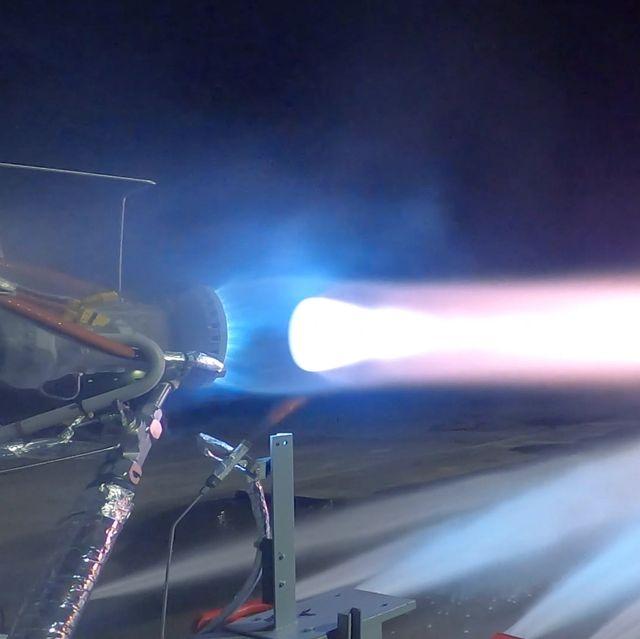 blue origin tests its be 7 rocket engine