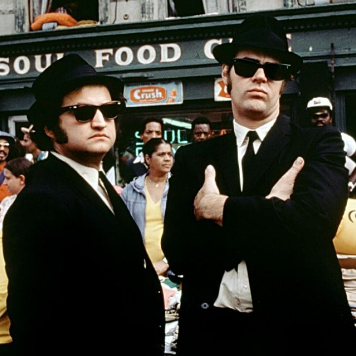 The Blues Brothers John Belushi and Dan Aykroyd bring their SNL characters to the screen in the first movie inspired by the sketch show. The pair play the titular brothers, Jake and Elwood, as they attempt to save their childhood orphanage from being closed.