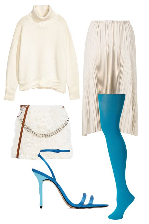 Clothing, White, Turquoise, Product, Leggings, Tights, Beige, Footwear, Leg, Shorts,