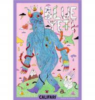 Marijuana strain poster Blue Yeti from Califari