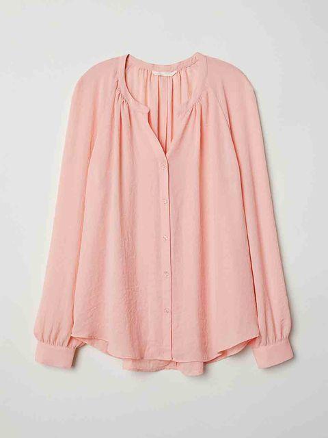 Blusa rosa de H&M.