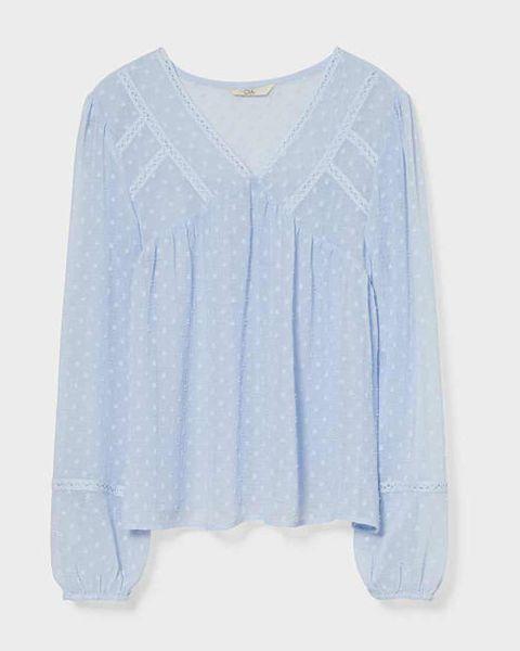 blusa plumeti azul ca