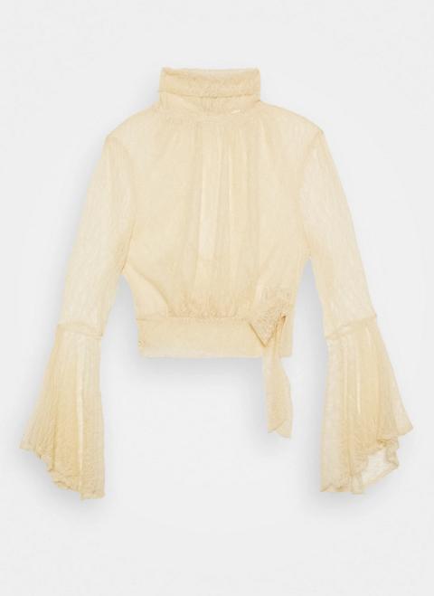 blusa pizzo moda primavera 2021