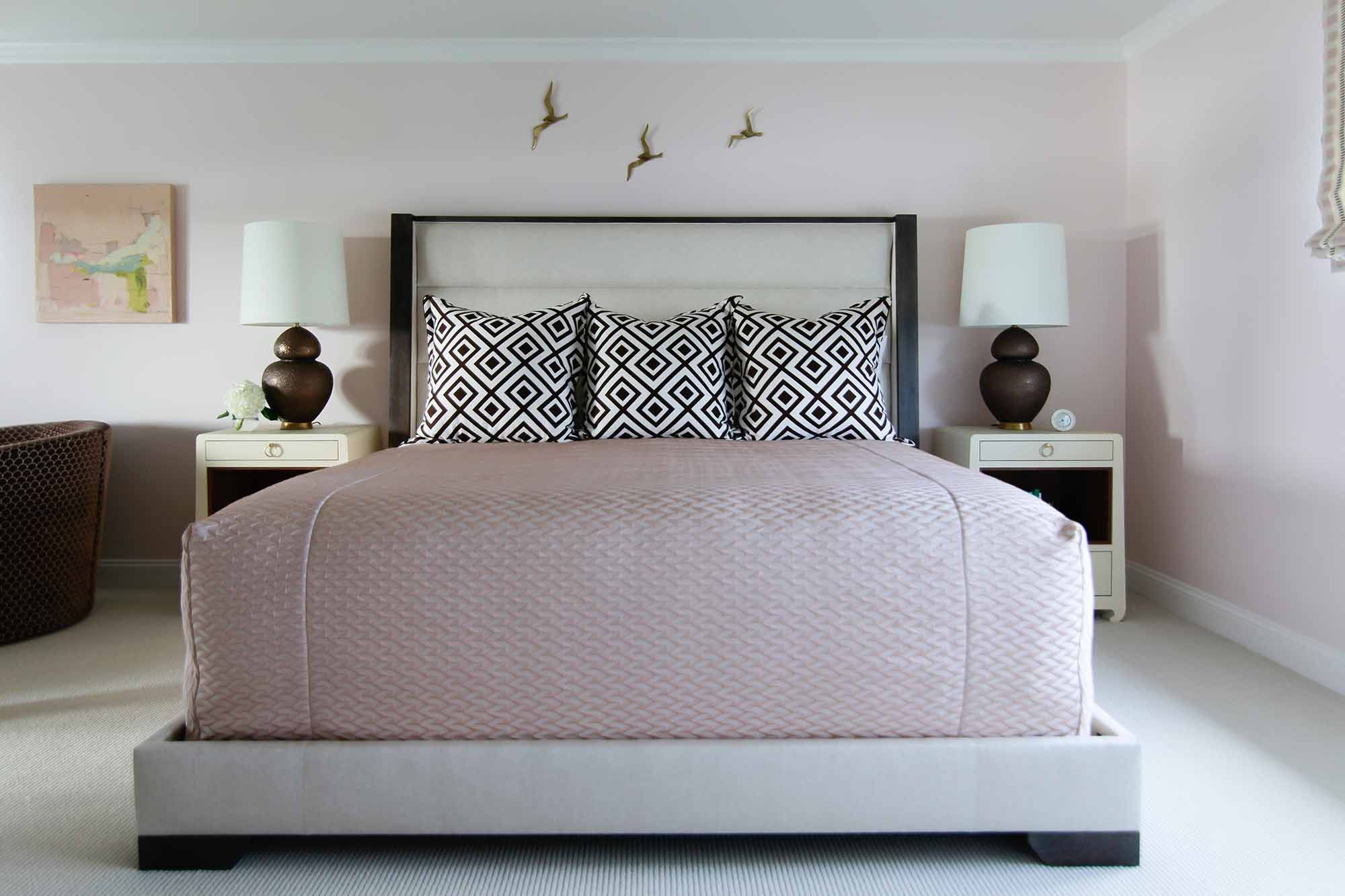 The Blush Paint Colors Designers Can't Get Enough Of