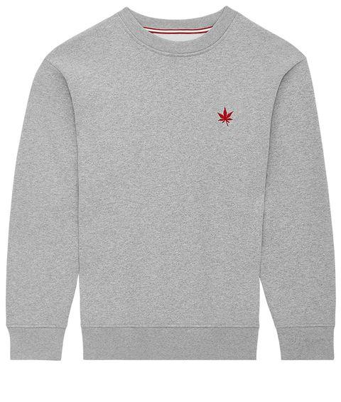 Clothing, Long-sleeved t-shirt, Sweater, Sweatshirt, Sleeve, Outerwear, Top, T-shirt, Grey, Wool,