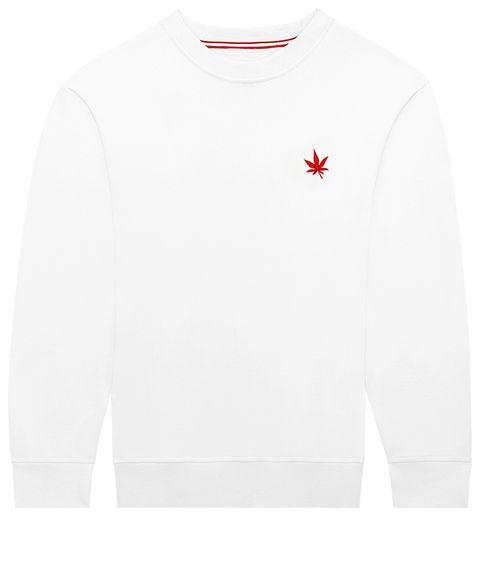 Long-sleeved t-shirt, Clothing, White, T-shirt, Sleeve, Sweater, Sweatshirt, Outerwear, Top, Neck,