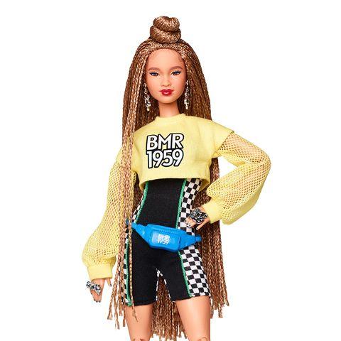 Doll, Barbie, Clothing, Toy, Fashion, Costume, Brown hair, Fashion design, Long hair,