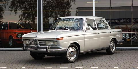 You Must Buy This 1968 BMW 2000, The 2002\'s Weird Four-Door Sibling