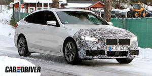 BMW Serie 6 GT espía